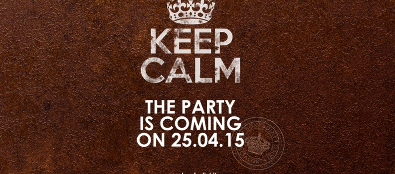 Keep Calm Waiting Party on 25.04.2015