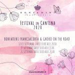 FESTIVAL IN CANTINA 2020 -12/13 e 19/20 SETTEMBRE 2020